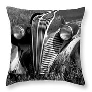 Highway Find Throw Pillow