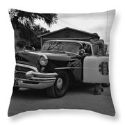 Highway Patrol 4 Throw Pillow by Tommy Anderson