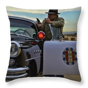 Highway Patrol 6 Throw Pillow by Tommy Anderson
