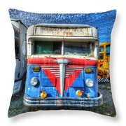 Highway Post Office U.s. Mail Throw Pillow