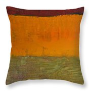Highway Series - Grasses Throw Pillow