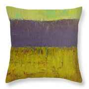 Highway Series - Lake Throw Pillow