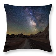 Highway To Throw Pillow