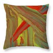 Highway To Abstraction Throw Pillow