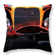 Highway To Hell Throw Pillow