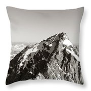 Hiker, Grand Teton Park, Wyoming, Usa Throw Pillow by Panoramic Images