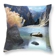 Hikers Haven Throw Pillow
