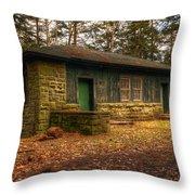Hiker's Rest Throw Pillow