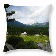 Hiker's Reward Throw Pillow
