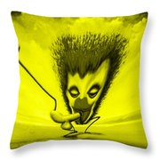 Hilarious Get-together Throw Pillow