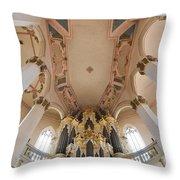 Hildebrandt Organ Naumburg Throw Pillow