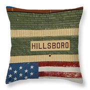 Hillsboro Village Nashville Throw Pillow