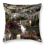 Hillside Positano Throw Pillow