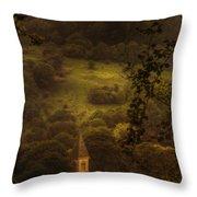 Hillside Sanctuary Throw Pillow