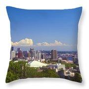 Hilltop View Throw Pillow