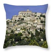 Hilltop Village Throw Pillow