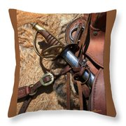 Hilt And Handle Throw Pillow