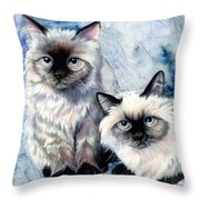 Himalayan Duo Throw Pillow