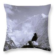 Himalayan Freedom Throw Pillow