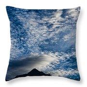Himalayan Skies Throw Pillow