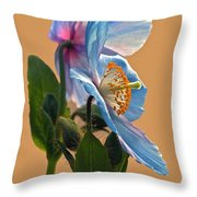Himalayan Wonder Two Throw Pillow
