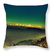Himalayas Throw Pillow