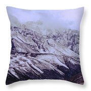 Himalayas Throw Pillow