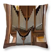 Himmerod Abbey Organ Throw Pillow