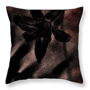 Hint Of A Lily Throw Pillow