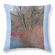 Hint Of Spring Throw Pillow