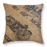 Hints On A Raleigh Throw Pillow