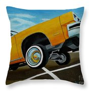 Hip Hoppin Chevy Throw Pillow