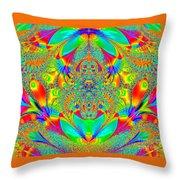 Hippies Unite Throw Pillow