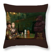 Hiring Leach Throw Pillow