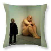 Hirshhorn Museum Sculpture Throw Pillow