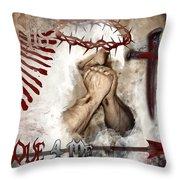 His Love 4 Me Throw Pillow