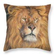 His Majesty - Detail Throw Pillow
