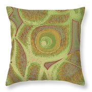 His Navel Australian Aboriginal Throw Pillow