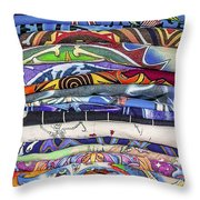 His Tshirt Collection Throw Pillow
