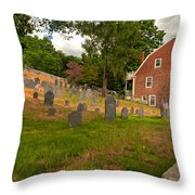 Historic Concord Throw Pillow