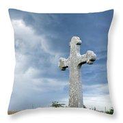 Historic Cross Throw Pillow
