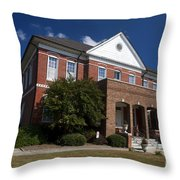 Historic Currituck Courthouse Throw Pillow