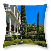 Historic Downtown Charleston Throw Pillow
