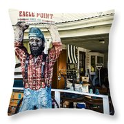 Historic Eagle Point Throw Pillow