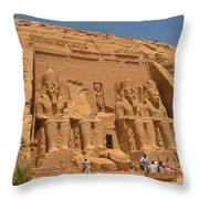 Historic Egypt Throw Pillow