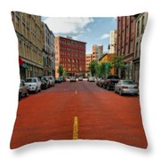 Historic Grand Rapids Michigan Throw Pillow