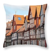 Historic Houses In Germany Throw Pillow