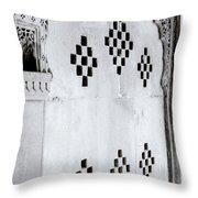 Symbol Of India Throw Pillow