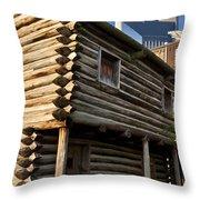 Historic Nashville Throw Pillow