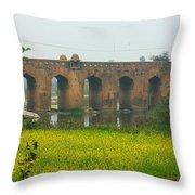 Historic Orchha Throw Pillow